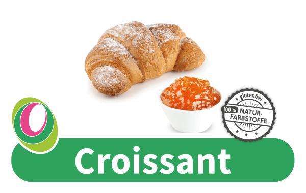 Abbildung eines Croissants mit entsprechender Beschriftung.