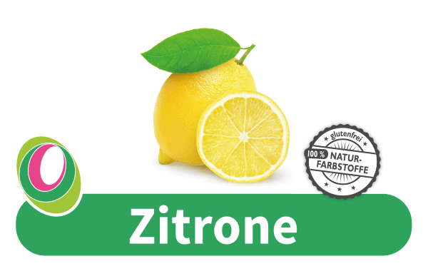 Abbildung einer Zitrone mit entsprechender Beschriftung.