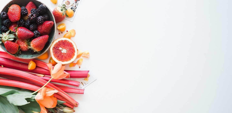 Abbildung von Früchten